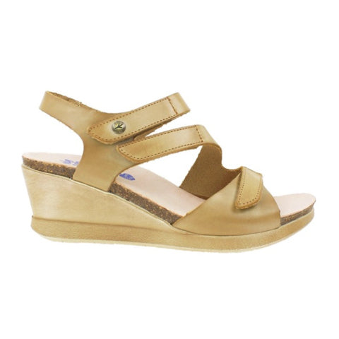 Wanda Panda Madonna (Women) - Taupe Sandals|Wedge Sandals - The Heel Shoe Fitters