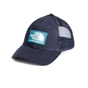 The North Face Mudder Trucker (Unisex) - Aviator Navy/Mallard Blue Outerwear - Headwear - Brimmed Hat - The Heel Shoe Fitters