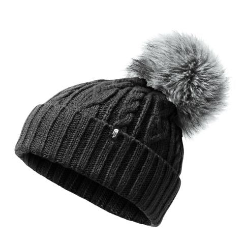 The North Face Oh-Mega Fur Pom Beanie - TNF Black Outerwear - Headwear - Beanie - The Heel Shoe Fitters