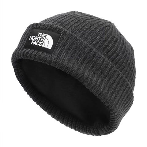 The North Face Salty Dog Beanie - Asphalt Grey/Heather Outerwear - Headwear - Beanie - The Heel Shoe Fitters