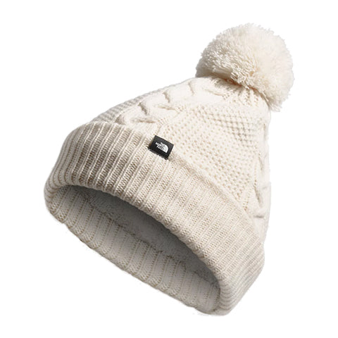 The North Face Cable Minna Beanie (Women) - Vintage White Outerwear - Headwear - Beanie - The Heel Shoe Fitters