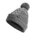The North Face Cable Minna Beanie (Women) - TNF Medium Grey Heather Outerwear - Headwear - Beanie - The Heel Shoe Fitters