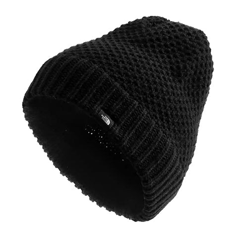 The North Face Purrl Stitch Beanie (Women) - TNF Black Outerwear - Headwear - Beanie - The Heel Shoe Fitters
