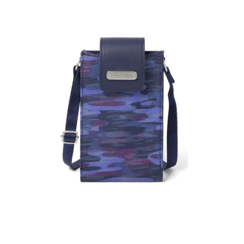 Baggallini Phone Crossbody - Moonlight Camo