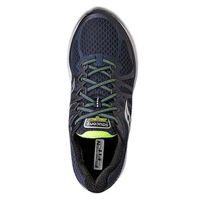 Saucony Echelon 6 (Men) (W) - Navy/Citron Athletic|Running|Neutral - The Heel Shoe Fitters