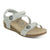 Aetrex Jillian Premium (Women) - Champagne Sandals|Slide Sandals - The Heel Shoe Fitters