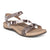 Aetrex Gabby Adjustable Sandal - Snake