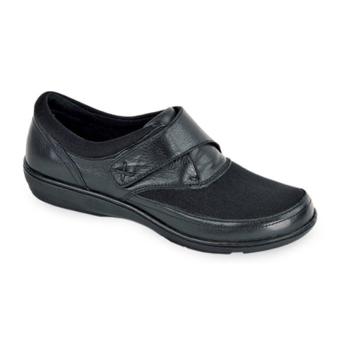 Aetrex Emma (Women) - Blackberry Dress/Casual|Monk Straps - The Heel Shoe Fitters