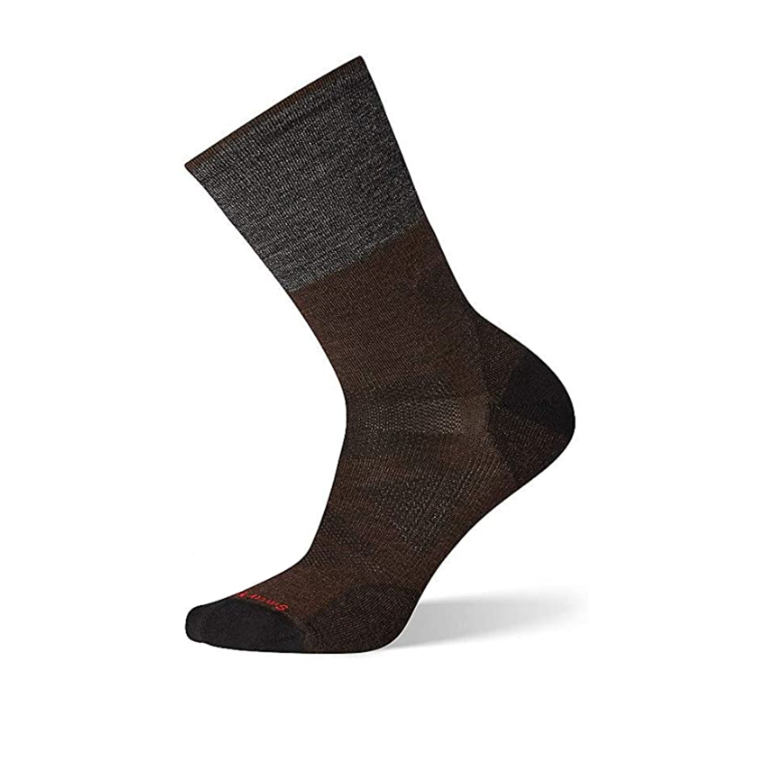 Smartwool PhD Pro Approach Crew (Men) - Chestnut Socks - Perf - Crew - The Heel Shoe Fitters