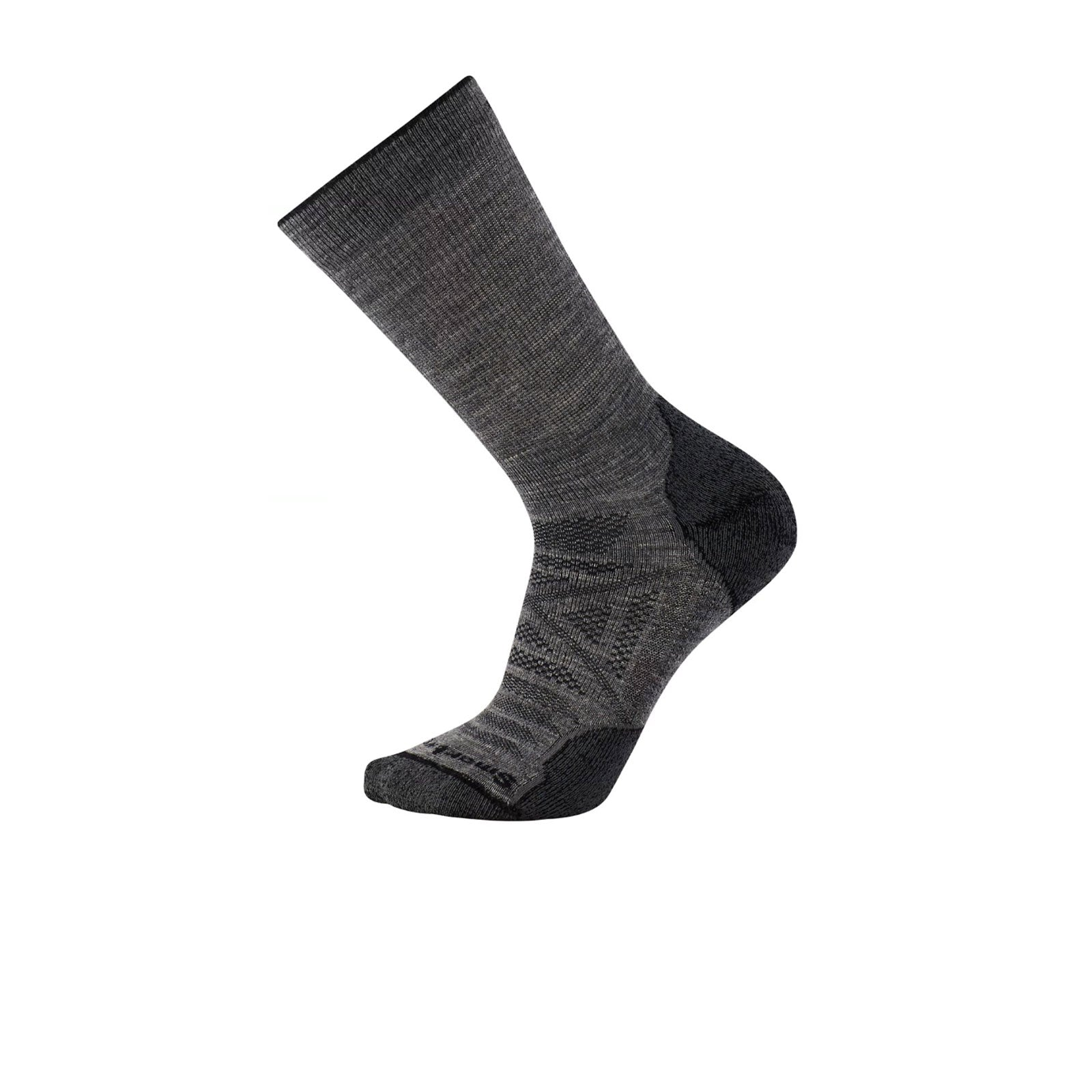 Smartwool PhD Outdoor Light Crew (Men) - Medium Gray Socks - Perf - Crew - The Heel Shoe Fitters