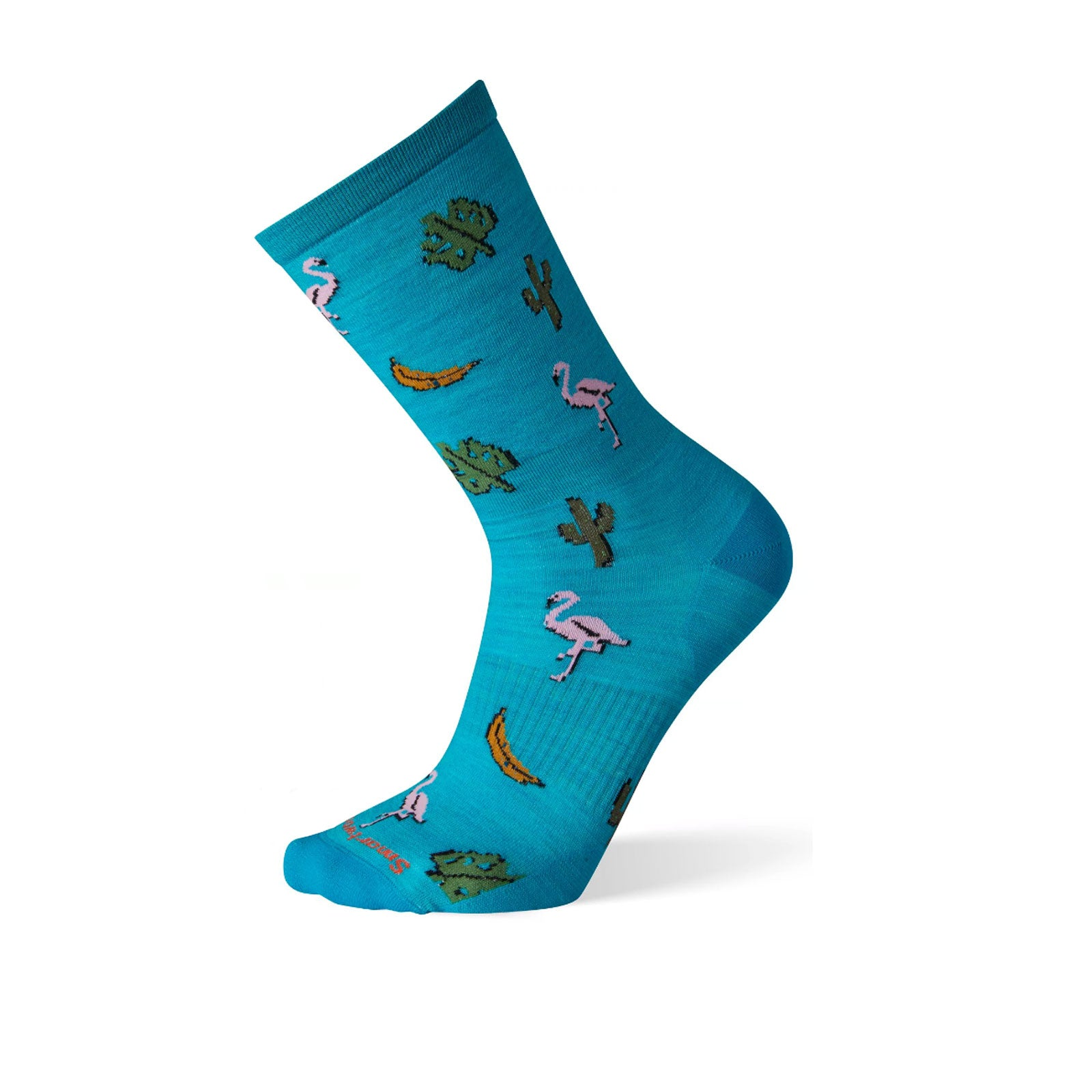 Smartwool Flamingo Crew (Men) - Capri Socks - Life - Crew - The Heel Shoe Fitters