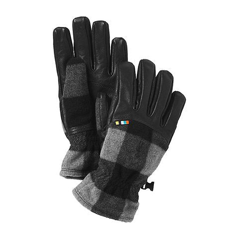 Smartwool Stagecoach Glove - Medium Gray-Black
