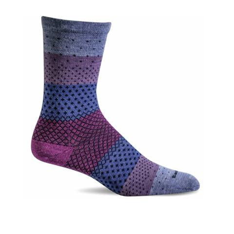 Sockwell Plantar Ease Crew - Lilac