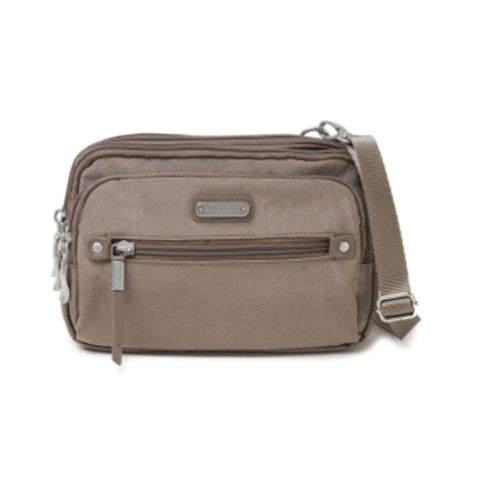Baggallini Time Zone Crossbody Bag - Portobello Shimmer