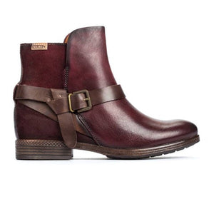 Pikolinos Ordino W8M-8919 - Garnet Boots|Fashion-Ankle Boot - The Heel Shoe Fitters