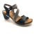 Wanda Panda Wandar (Women) - Black Sandals|Heeled Sandals - The Heel Shoe Fitters