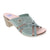 Wanda Panda Willow (Women) - Grey Blue Sandals|Slide Sandals - The Heel Shoe Fitters