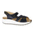 Xelero Mykonos (Women) - Navy Sandals|Backstrap Sandals - The Heel Shoe Fitters