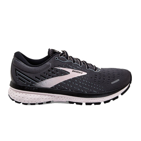 Brooks Ghost 13 (Women) - Black/Pearl/Hushed Violet Athletic|Running|Neutral - The Heel Shoe Fitters