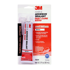 3M Fast Cure White 5200 Marine Adhesive Sealant