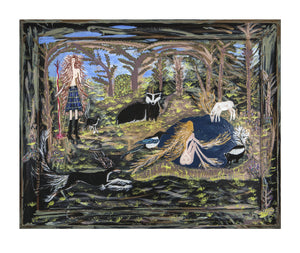 The Ladies of The Forest - A3 (297 x 420 mm) #1 & #2 #3