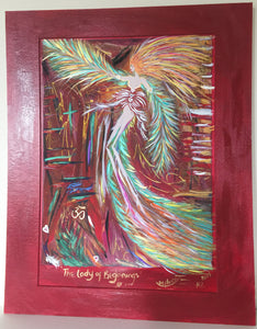 "The Lady of Beginnings - 16"" x 20"" (40.5 x 51.0 cm) Mounted A3 aperture # 2"