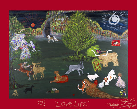 Love Life - 40.5 x 51.0 cm - Available to order