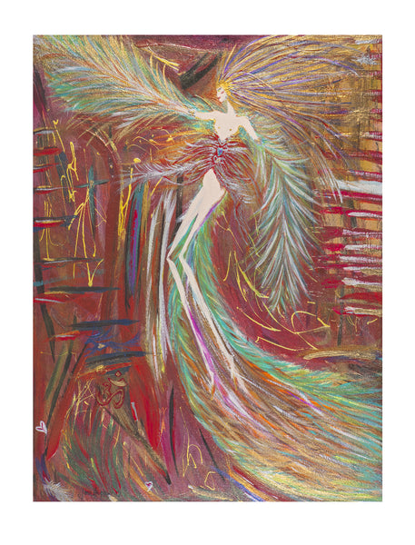 The Lady of Beginnings - Framed 47.2 x 57.3cm Float Mounted