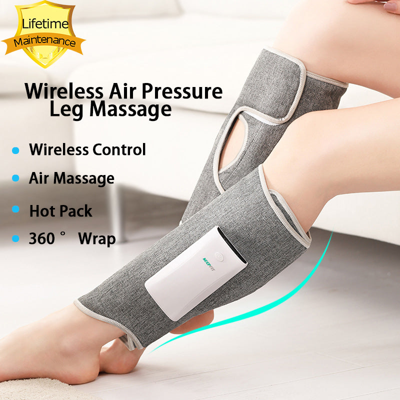 Wireless Leg Massager Air Compression Leg Massage Full Wrap Varicose Veins Physiotherapy
