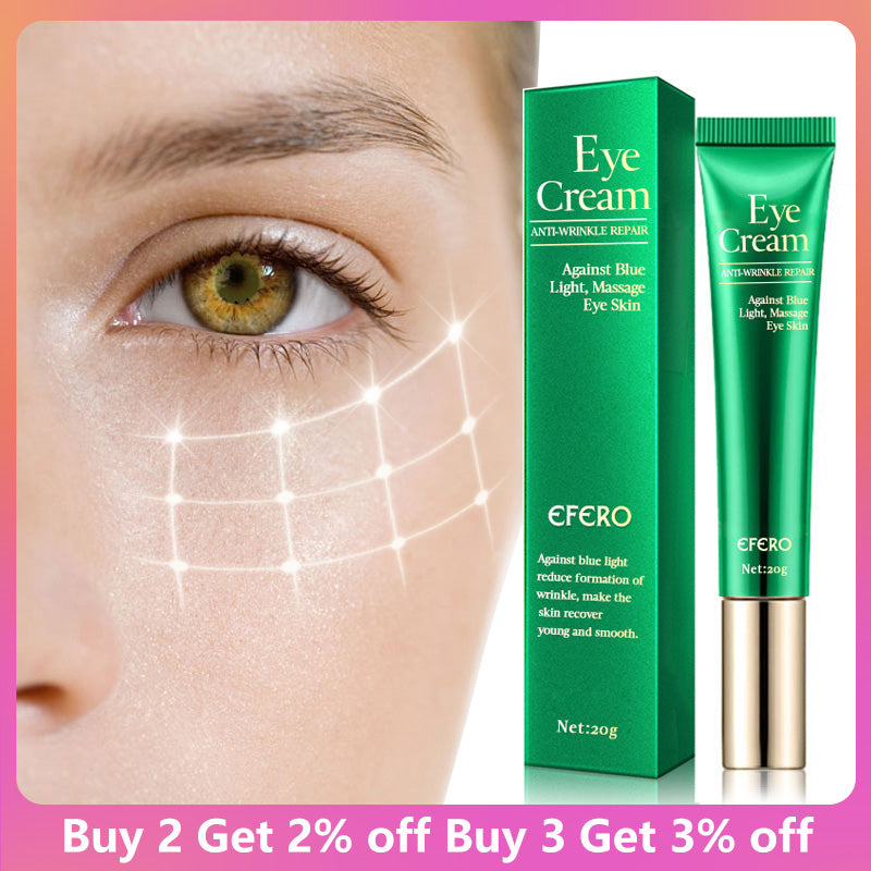 EFERO Eye Cream Peptide Collagen Serum Anti-Wrinkle Anti-Age Remover Dark Circles Eye Care Against Puffiness And Bags Eye Creams