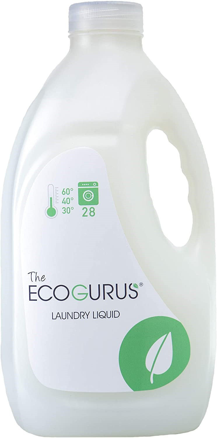 Eco-Friendly Laundry Liquid Detergent Non Bio 28 washes 2L