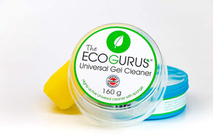 Eco-Friendly Biodegradable Universal Gel Cleaner with Sponge 160g