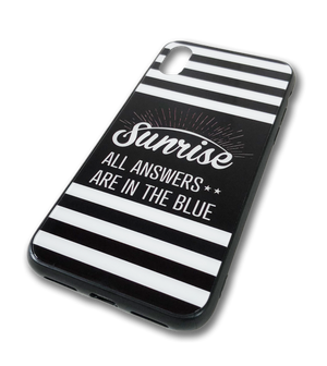 SUNRISE  iPhone用 CASE  『SUN LOGO』 ◆スマホケース XR、XSのみ在庫有