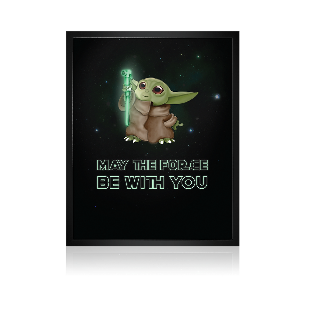 May the force be with you Photoframe - Smeltt.com