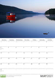 The English Lake District 2021 Wall Calendar