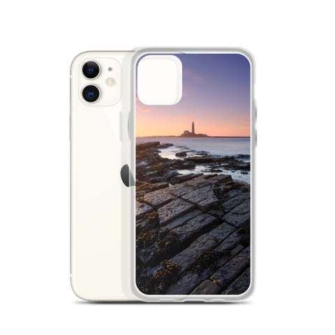 St Mary's Island & Lighthouse (Tyne and Wear) iPhone Case