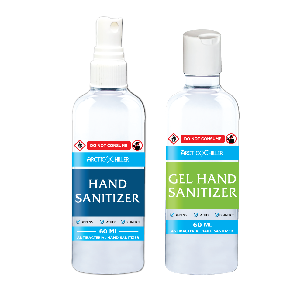 Bottled Hand Sanitizer Liquid Or Gel