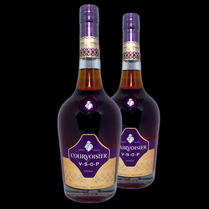 Courvoisier V.S.O.P. Cognac (Twin Bottle Deal)