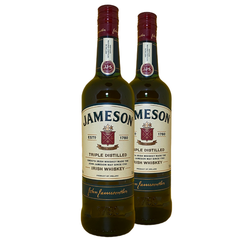 Jameson Irish Whisky (Twin Bottle Deal)