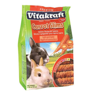 SLIMS WITH CARROT FOR RABBIT