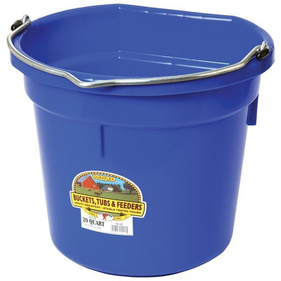 LITTLE GIANT PLASTIC FLAT BACK BUCKET