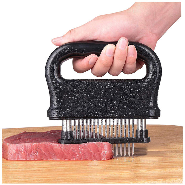 Professional Meat Tenderizer Tool 48-Blades Stainless Steel