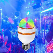 Rotating Party Mushroom Bulb