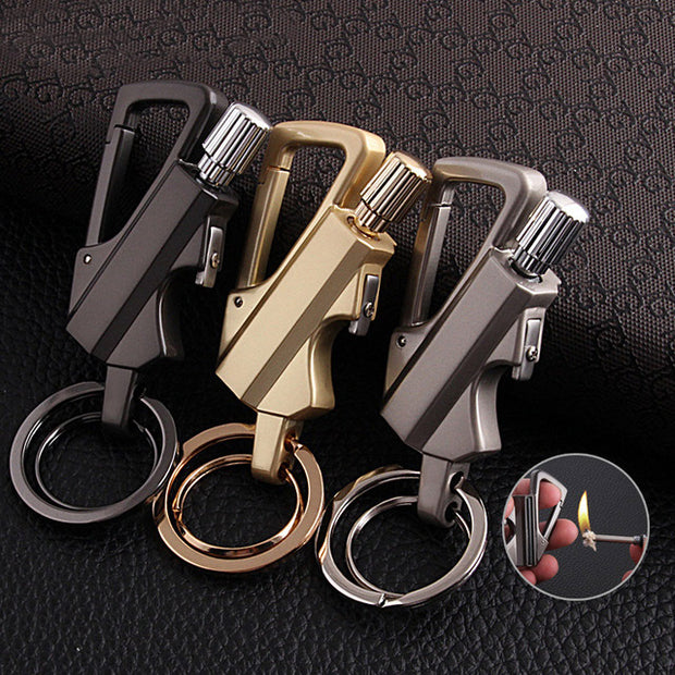Carabiner Permanent Match Striker lighter