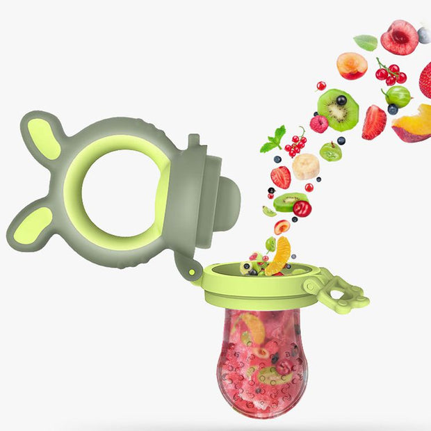 Baby Fruit & Food Feeder with 3 pacifiers