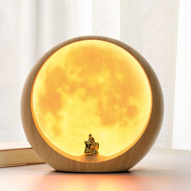 LED Lunar Love Lamp