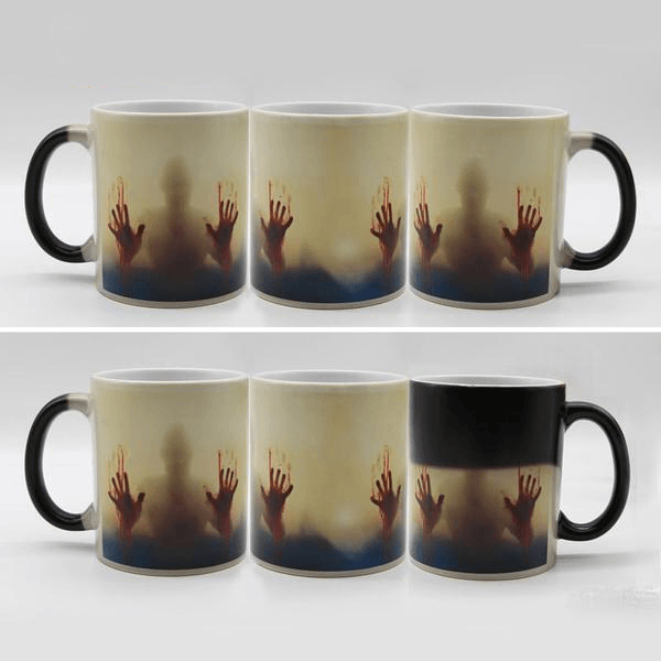 Heat-Reacting Undead Mug