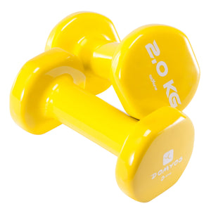 Domyos by DECATHLON - Tone Dumbbells Twin-Pack 4.4 lbs.