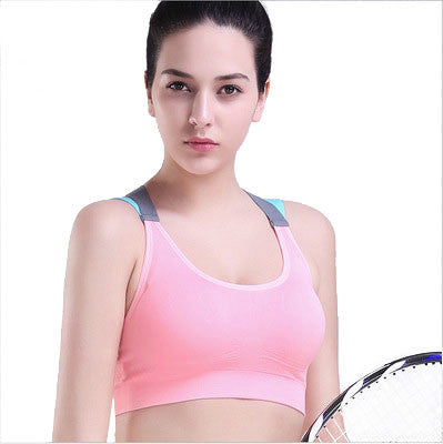 Sports Bras for Women - Padded High Impact Workout