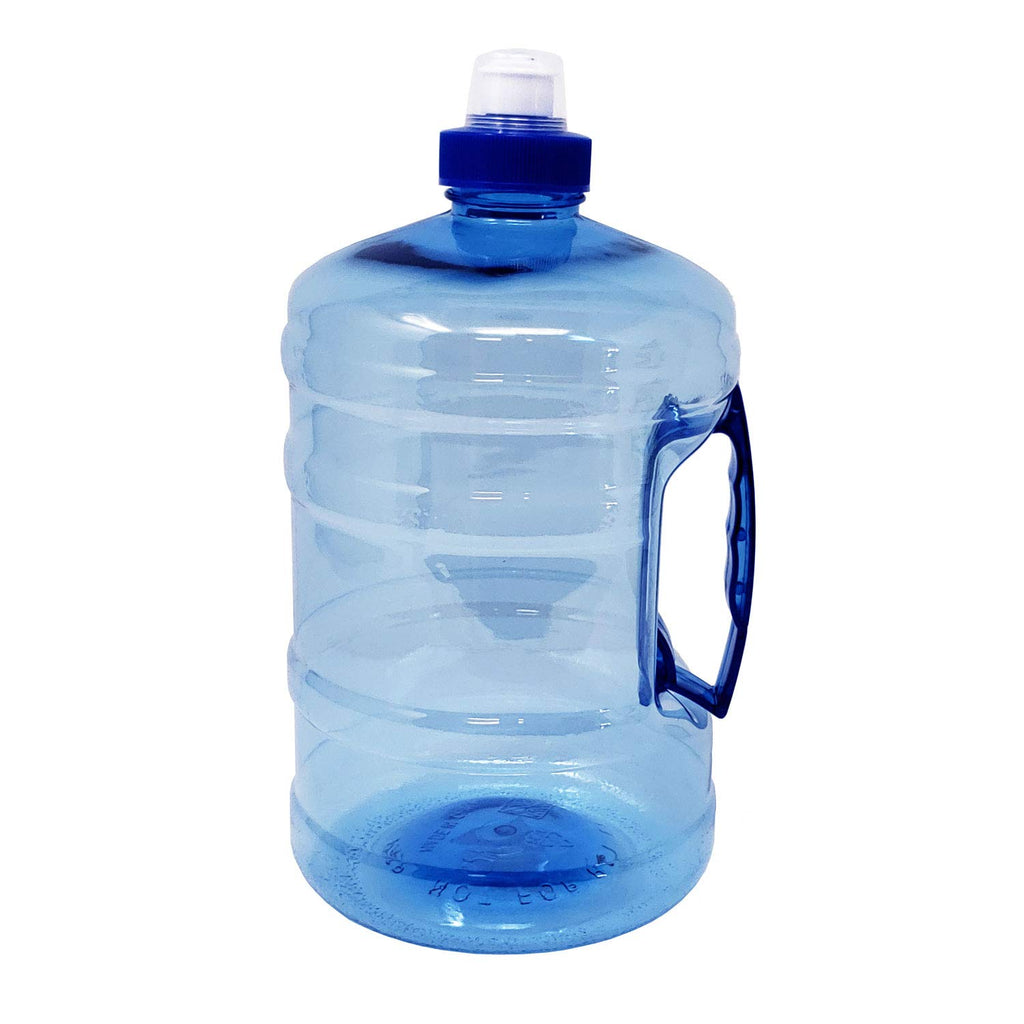 Water Bottle Jug with Handle Half Gallon 75 oz - Bpa Free Food Grade Plastic